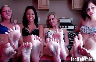 Compilation nouveau site porno gratuit HandJob et moi montrons mes bas Devine Feet !!!!!